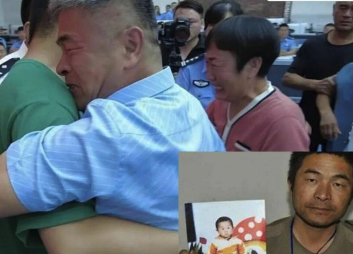 Çin'de 500 bin kilometreden fazla yol yapan baba, 24 yıldır kayıp oğluna kavuştu