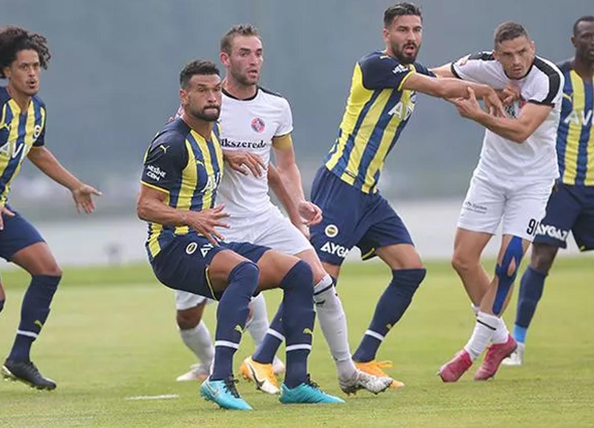 Fenerbahçe, hazırlık maçında Csikszereda'yı 2-0 mağlup etti