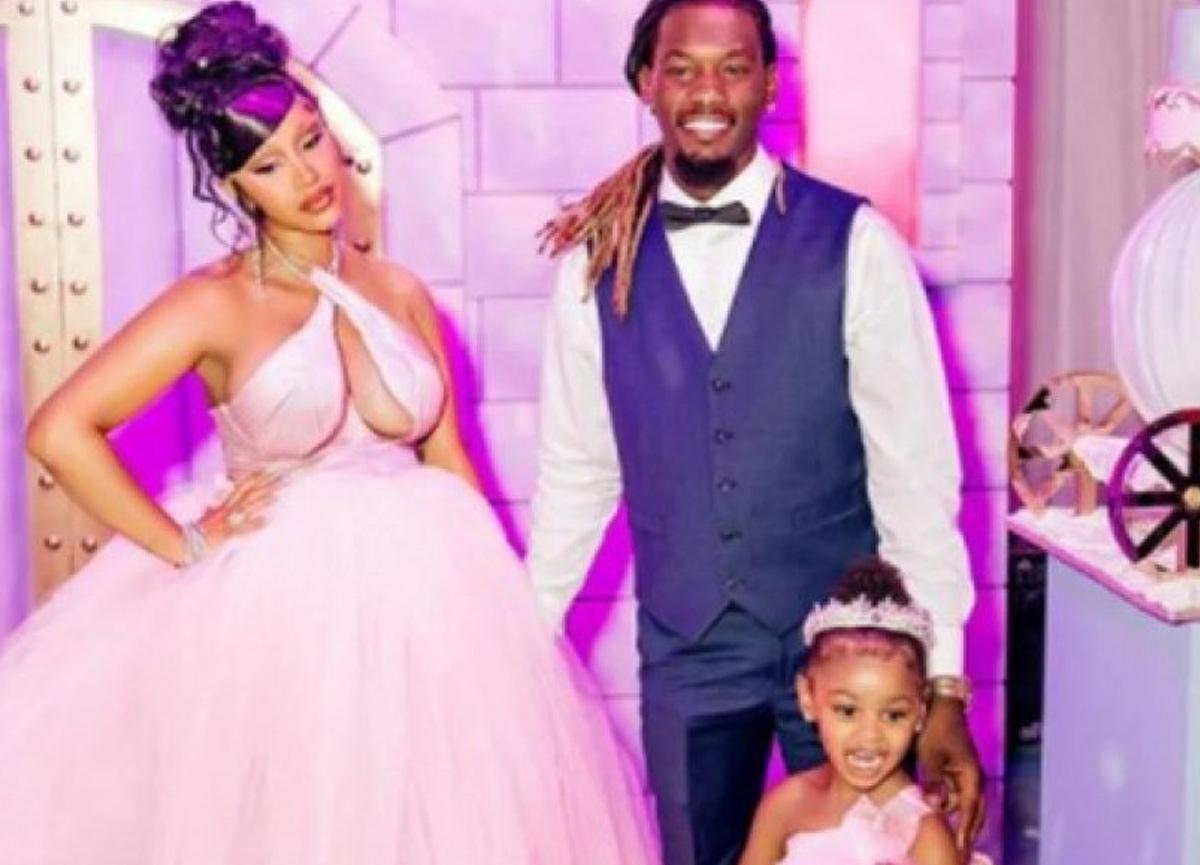 Cardi B'den üç yaşındaki kızına 124 bin dolarlık gerdanlık