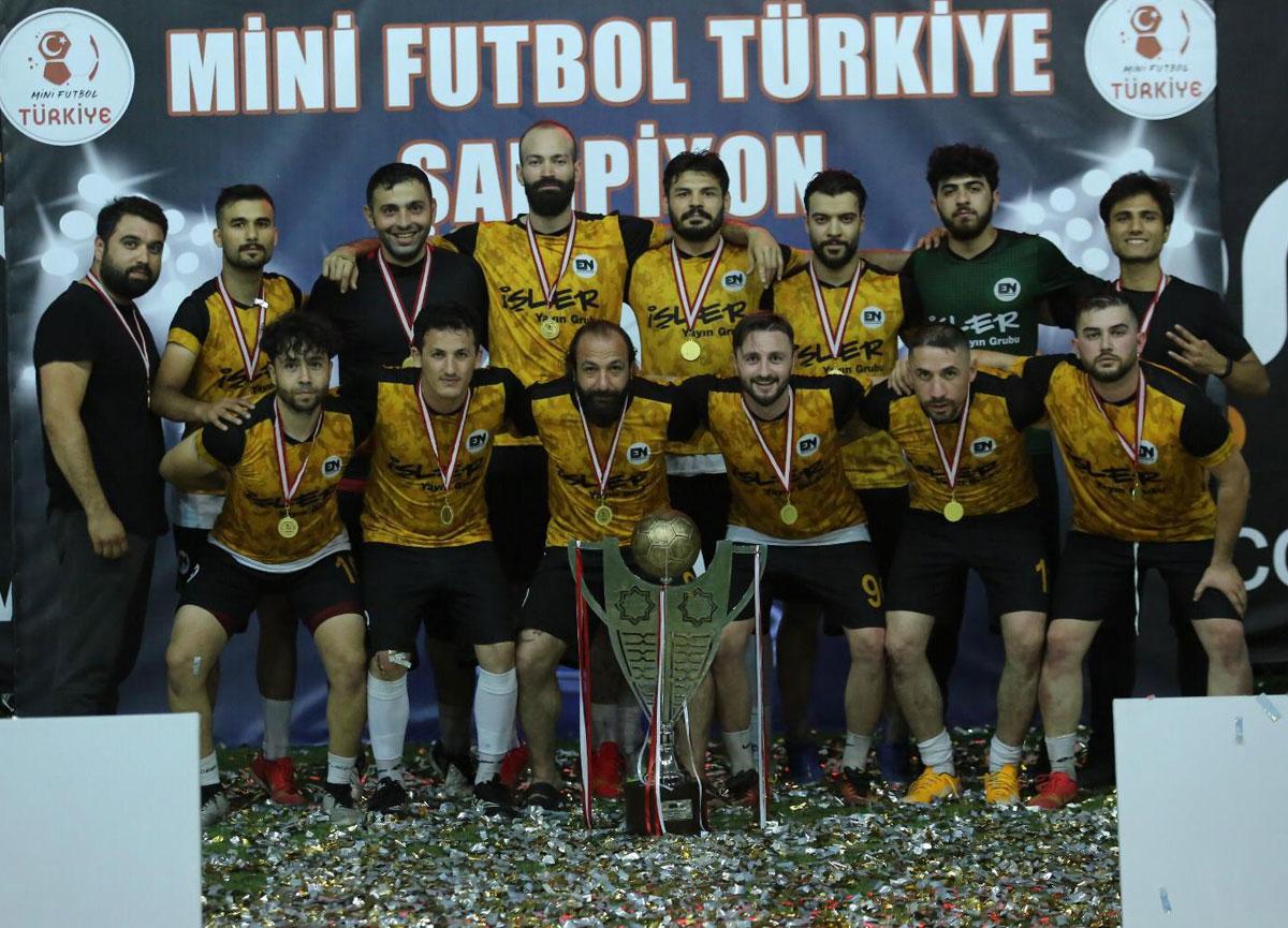 Maraton Mini Futbol Türkiye Halı Saha Şampiyonası Tv8, 5 ekranlarında