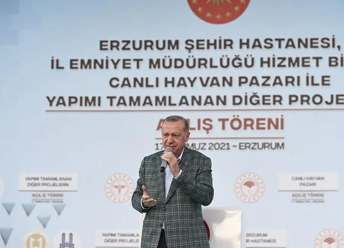 Cumhurbaşkanı Erdoğan açıkladı: Rize'de selin vurduğu yerler Afet Bölgesi ilan edilecek