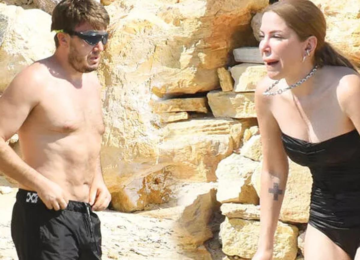 Mustafa Ceceli ile Selin İmer tatilde
