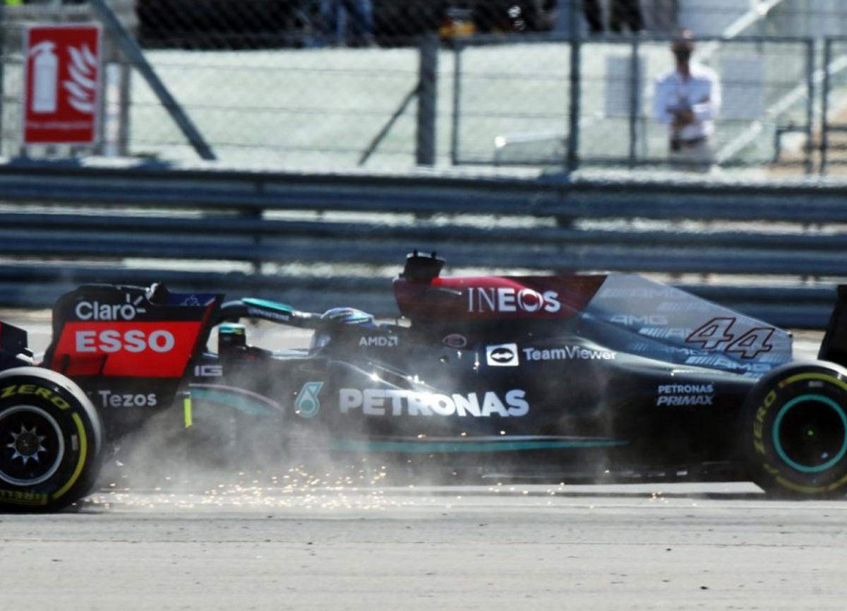 Formula 1'de korkutan kaza: Verstappen ve Hamilton...