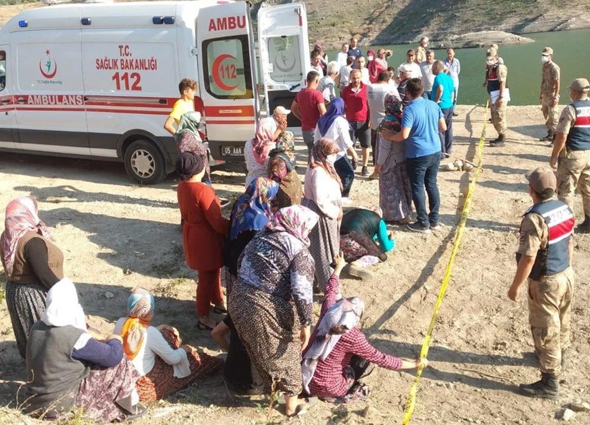 Amasya'da aile faciası! 5 kişilik aile gölette boğuldu