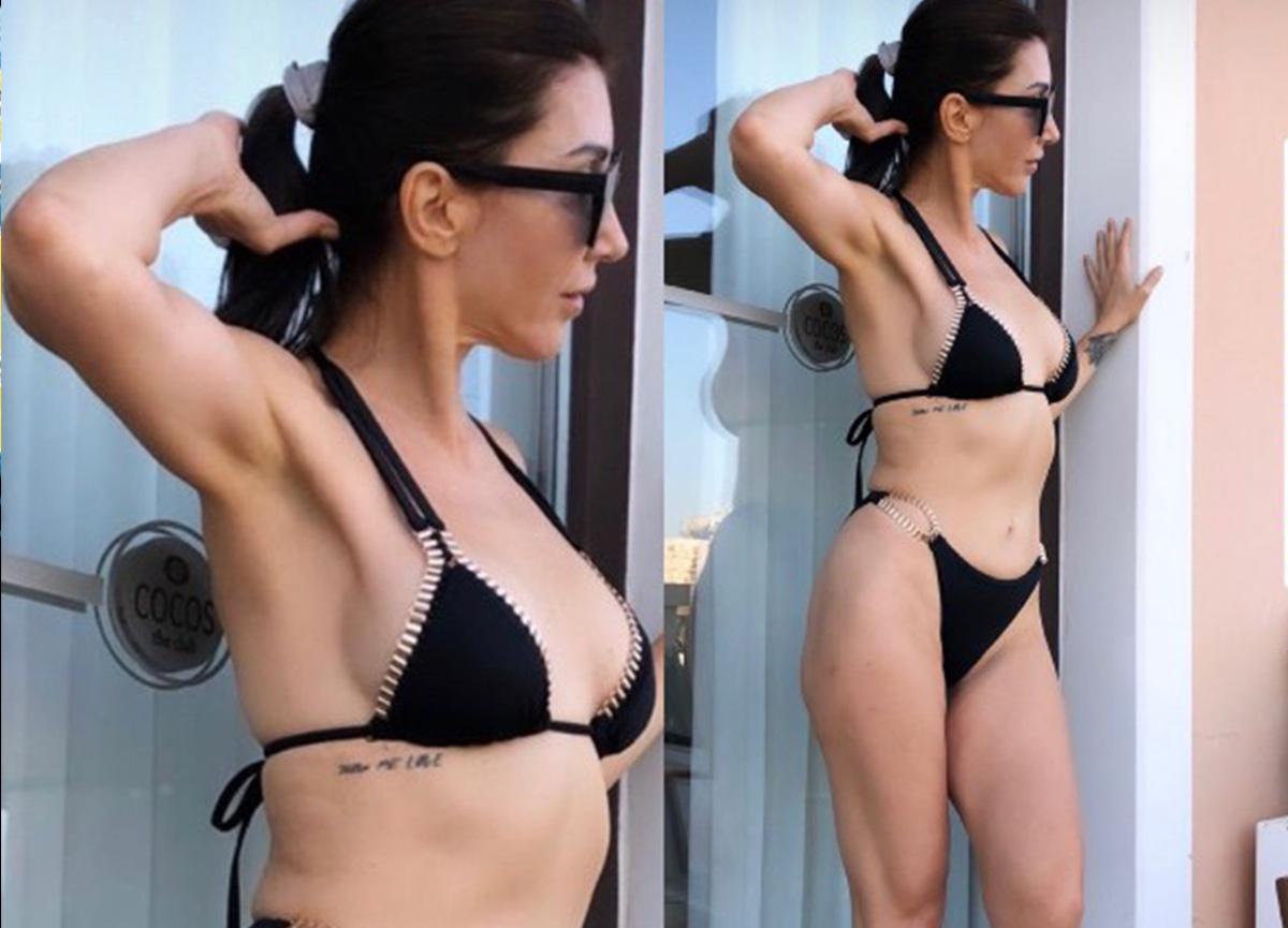 Hande Yener'in bikinili pozu büyük ilgi topladı