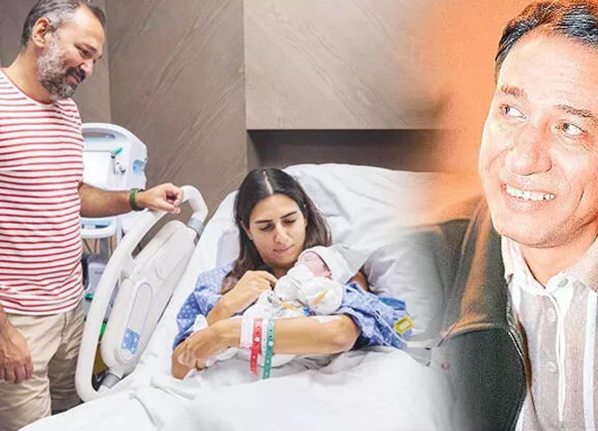 Ali Sunal, babası Kemal Sunal'a seslendi: Torunları üçledin canım babam