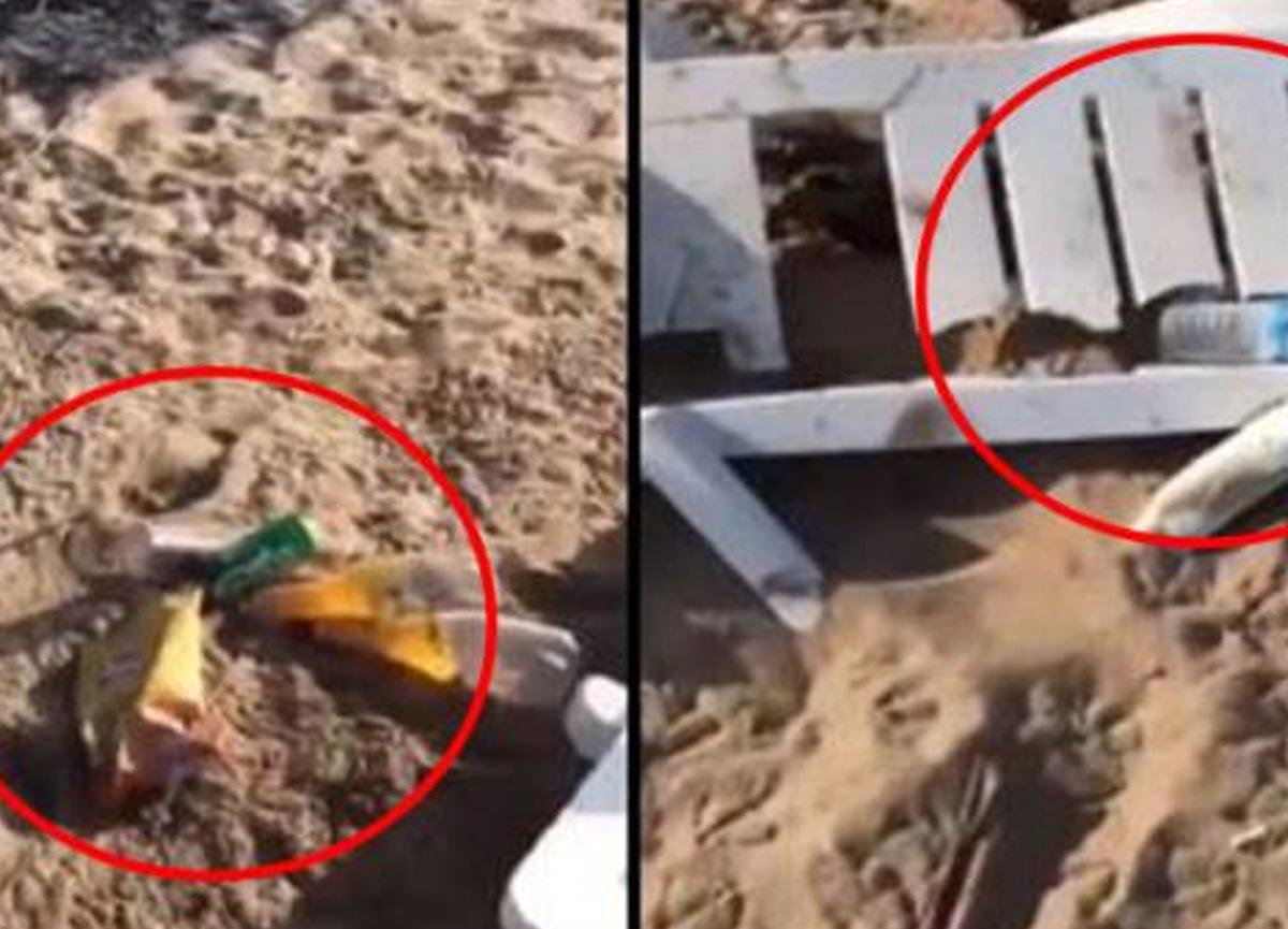 Bozcaada'da skandal görüntüler! Belediyeden bir açıklama daha yapıldı