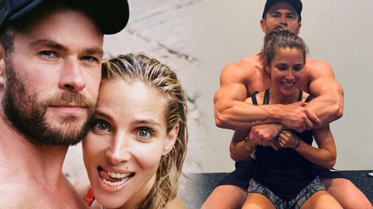 Chris Hemsworth eşi Elsa Pataky'nin yeni yaşını kutladı