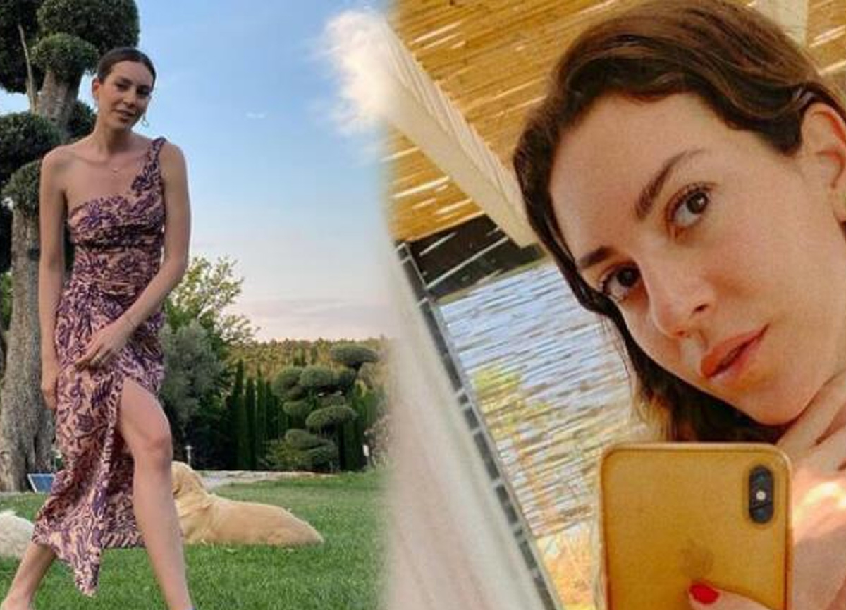Oyuncu Sinem Kobal'ın bikinili paylaşımına beğeni yağdı!