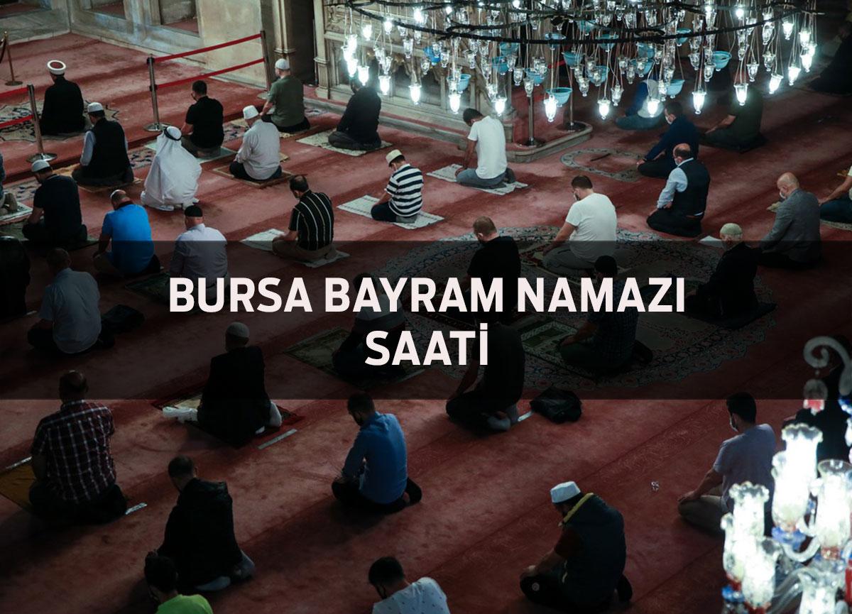 Bursa'da bayram namazı saat kaçta? Diyanet Bursa Kurban Bayramı namazı saati 2021