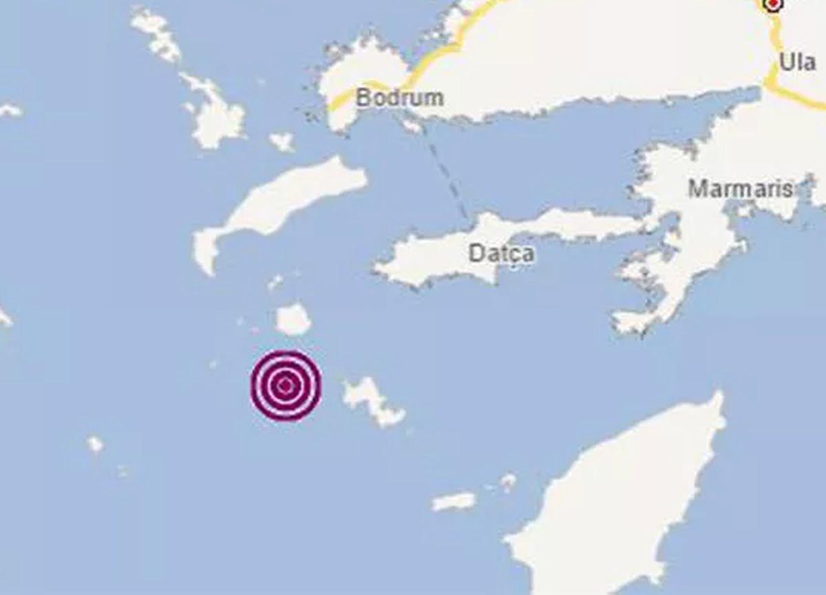 Ege'de peş peşe deprem meydana geldi!