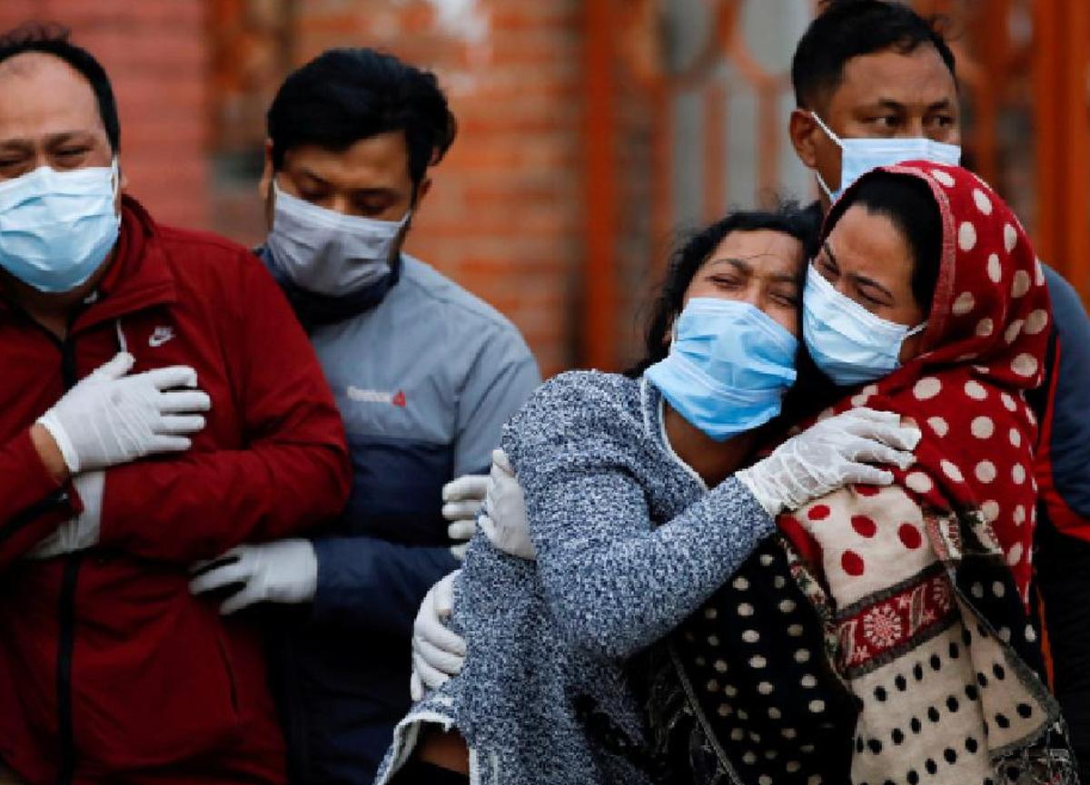 Dehşete düşüren sayı ortaya çıktı: Hindistan'da Kovid-19, 4, 7 milyon hayatı söndürmüş olabilir!