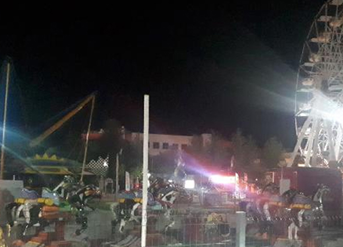 Marmaris'te lunaparka 16 gün sonra ikinci saldırı: 1 yaralı
