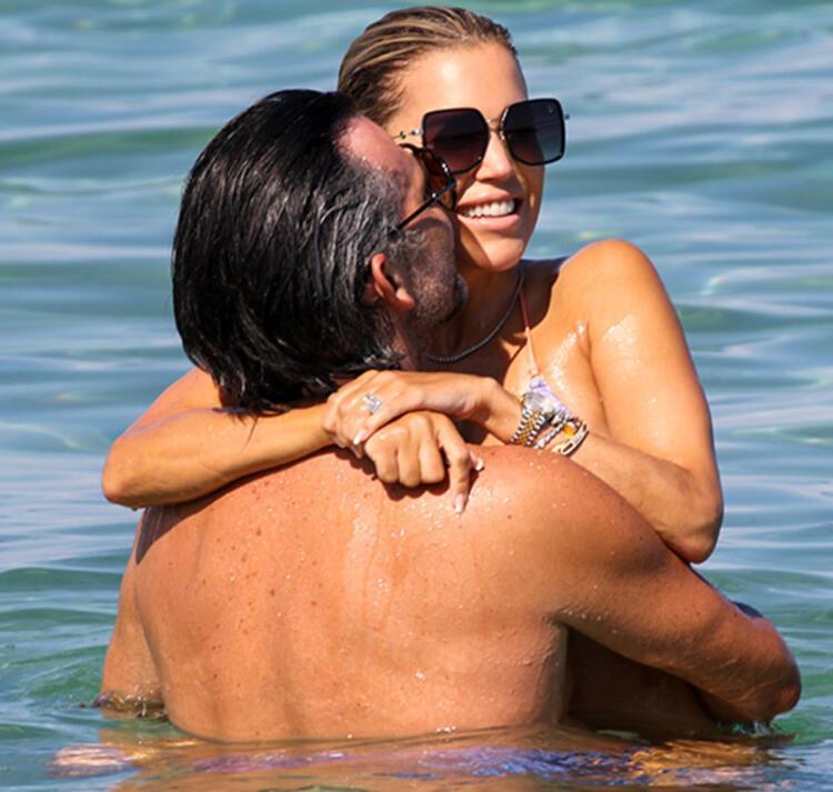 Niclas Castello ile Sylvie Meis'in romantik tatili