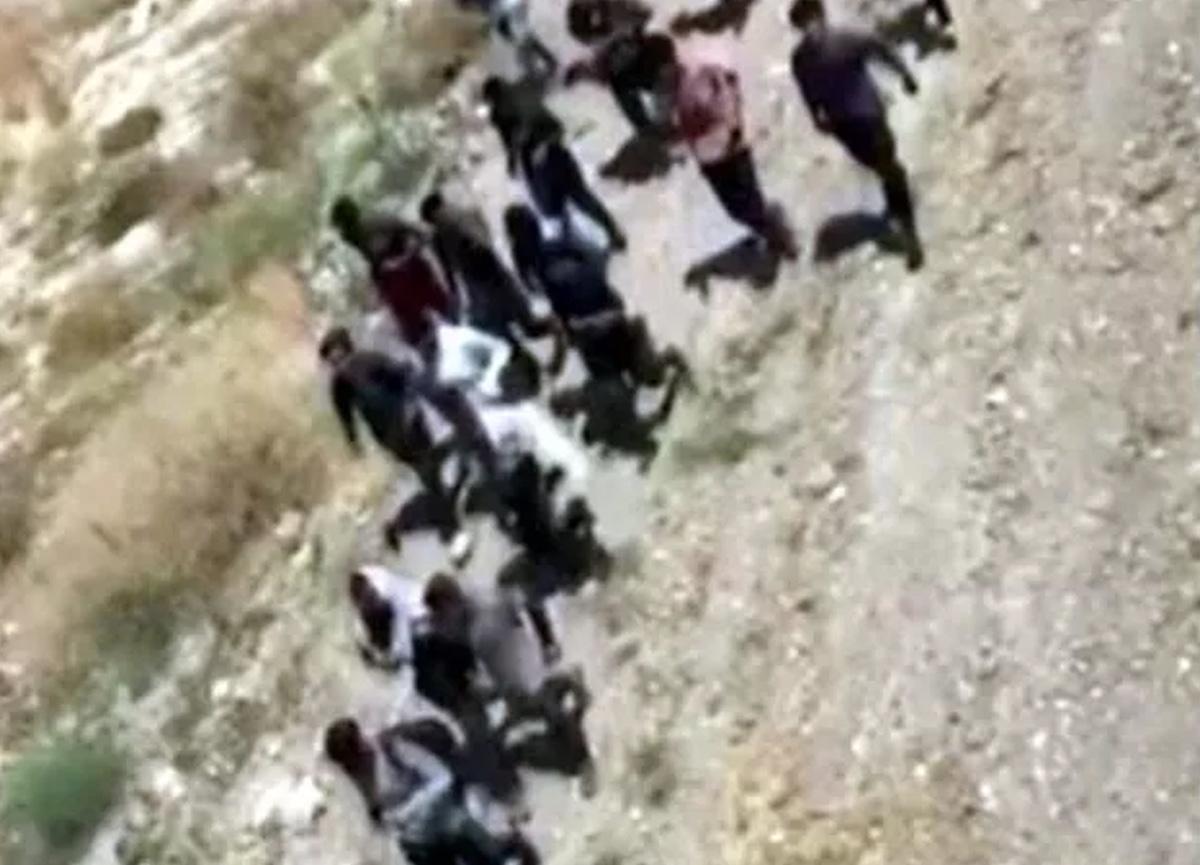 Van'da göçmen paniği! 113 Afgan göçmen yakalandı