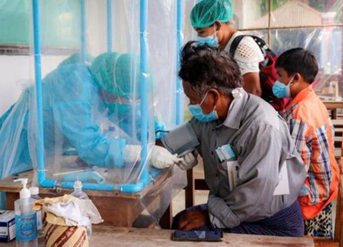 Myanmar'ı hem darbe hem koronavirüs vurdu!