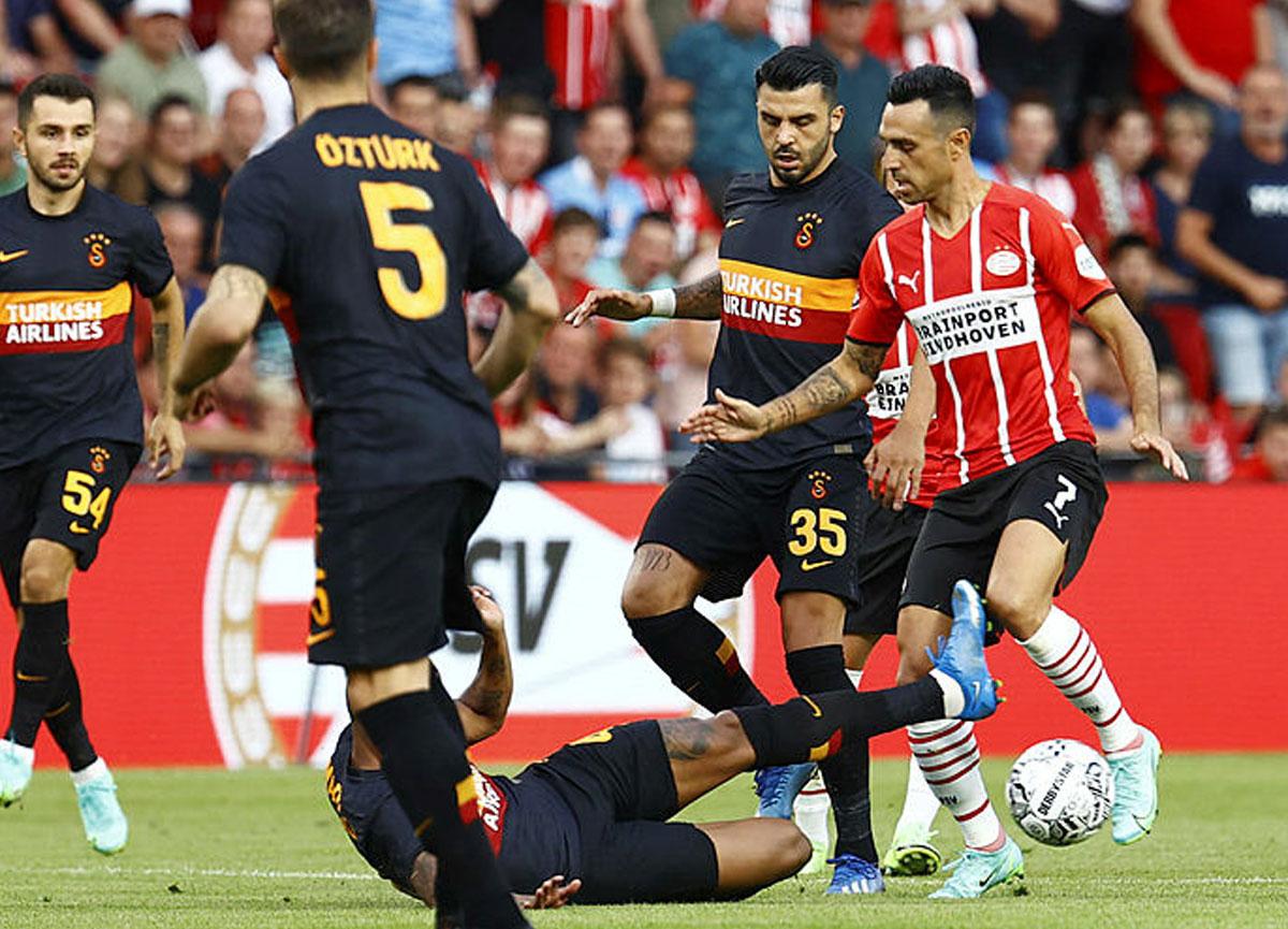 PSV Eindhoven 5-1 Galatasaray - MAÇ SONUCU