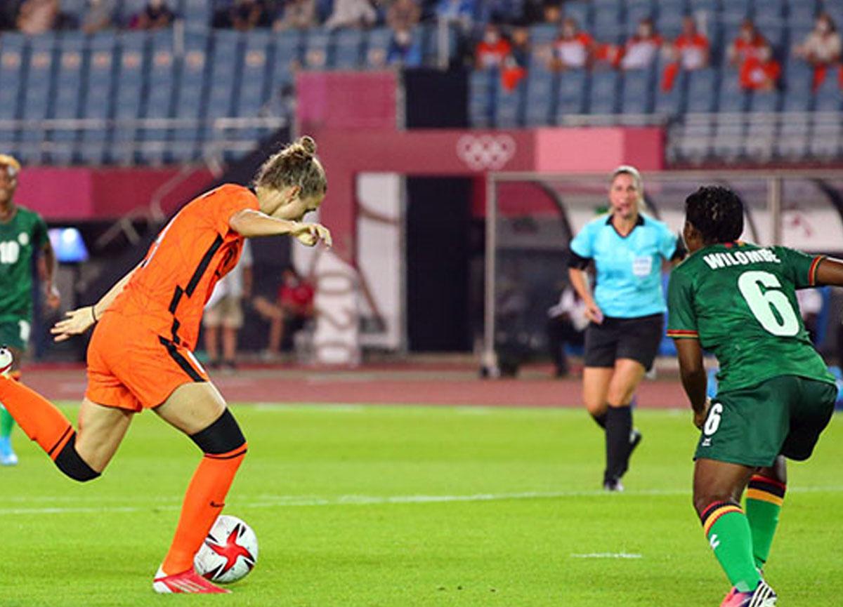 Hollanda açılış maçında Zambiya'yı 10-3 mağlup etti