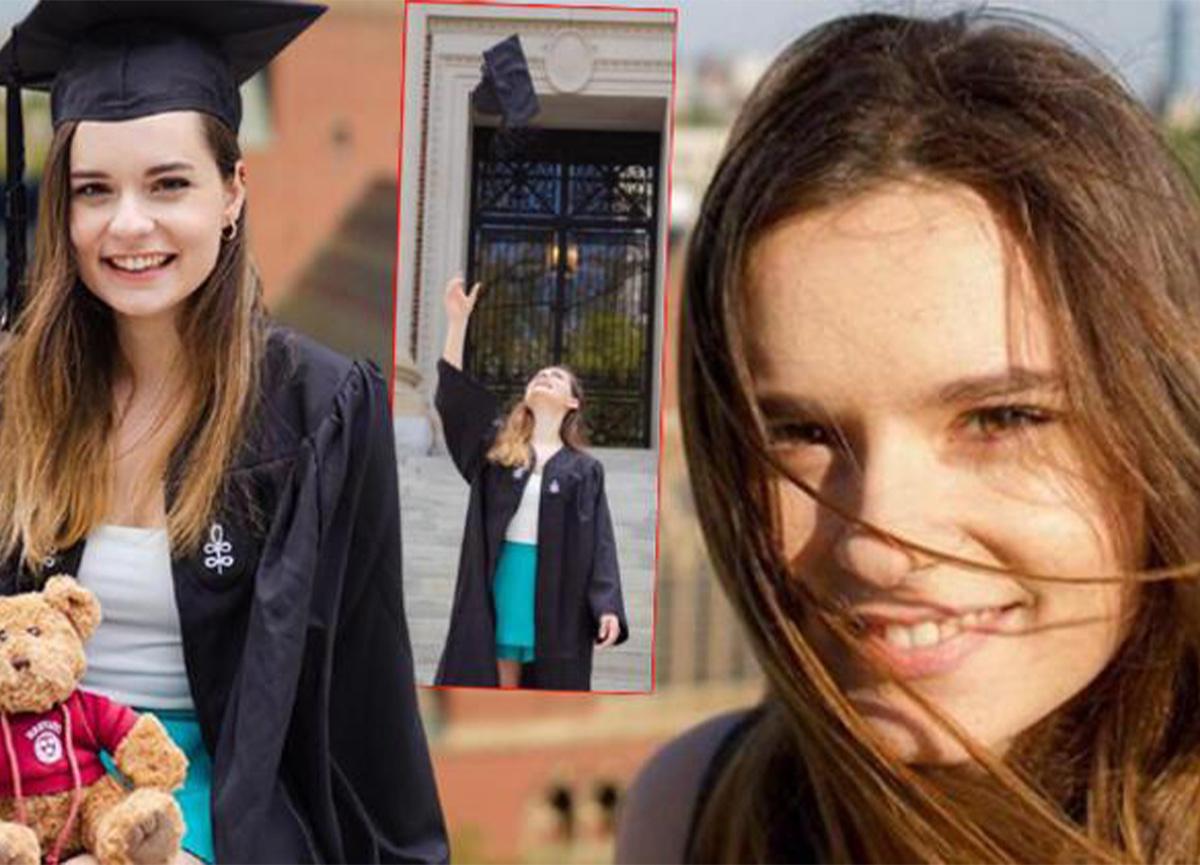 Harvard mezunu Ece Hakim, en başarılı 25 Türk öğrenci arasına girdi