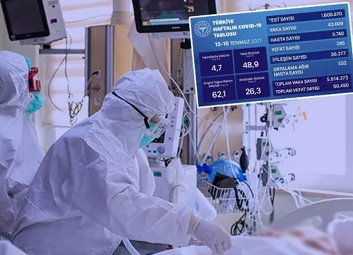 Sağlık Bakanlığı mavi tabloyu paylaştı! Vaka sayısında korkutan yükseliş...