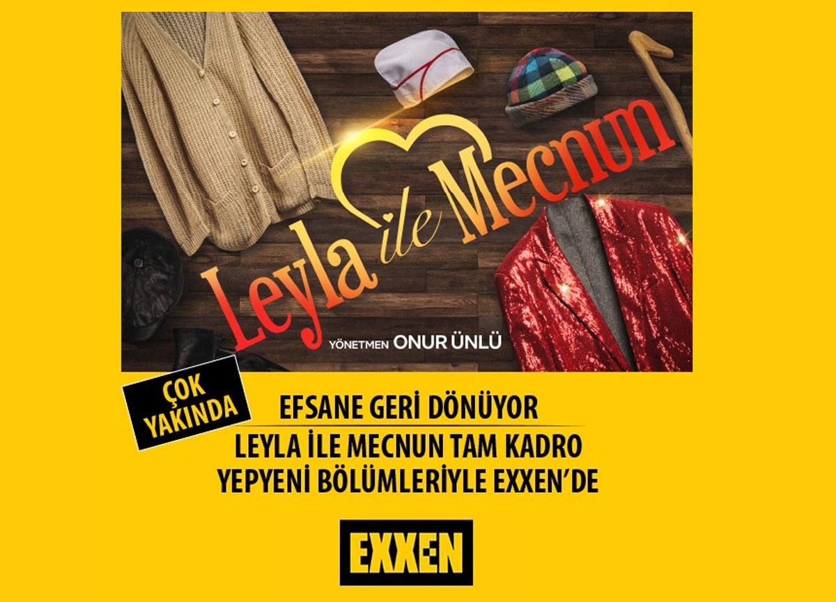 Leyla ile Mecnun yeni bölümleriyle yakında Exxen'de