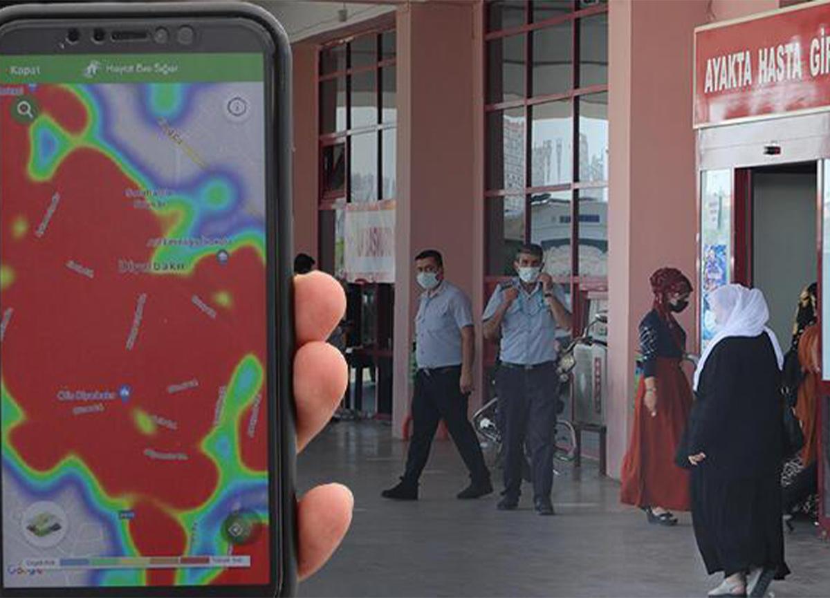 Diyarbakır'da harita kırmızıya döndü!