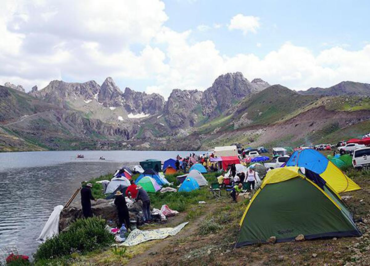 Milli park ilan edilen Cilo Dağı'na ziyaretçi akını!