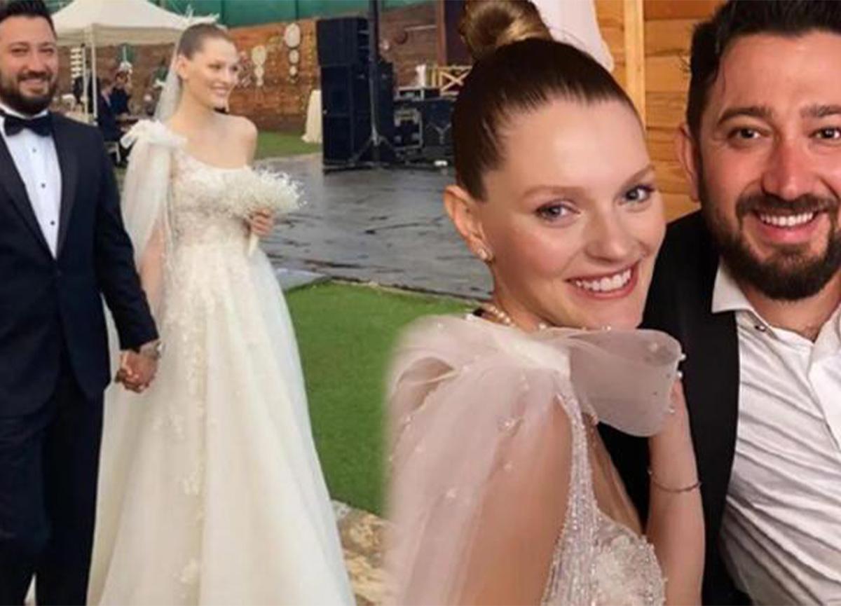Gözde Türker ve Anıl Güler evlendi!