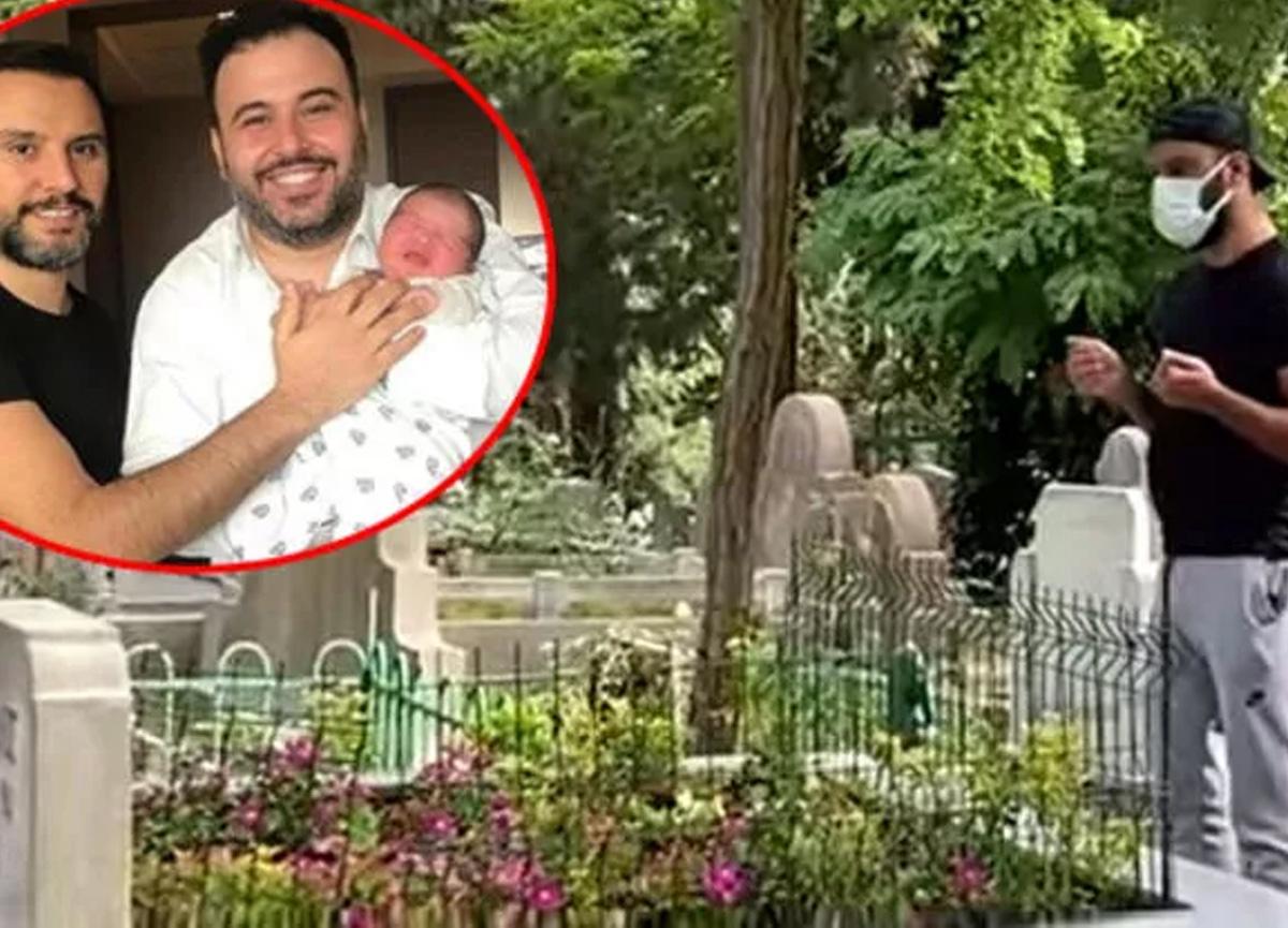 Alişan vefat eden kardeşi Selçuk Tektaş'ın mezarını ziyaret etti