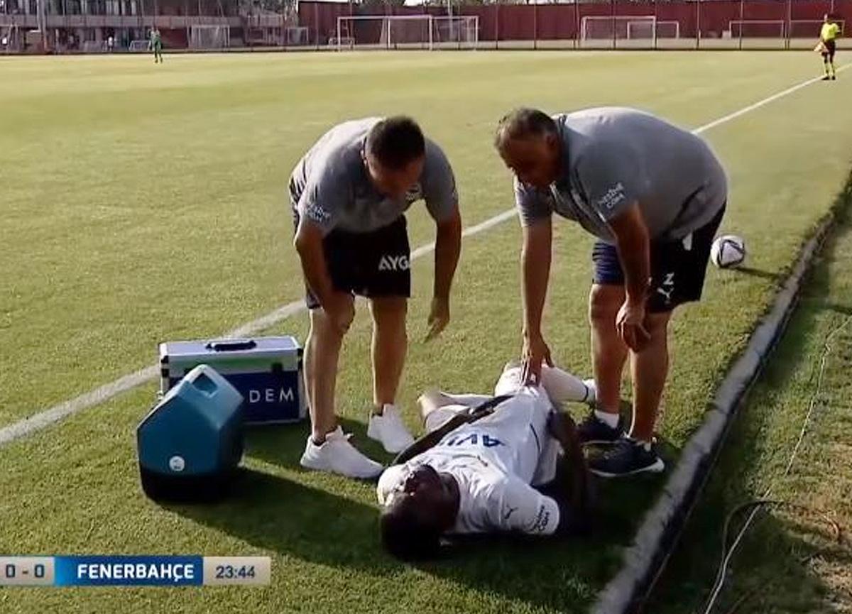 Fenerbahçe'de Samatta sakatlandı