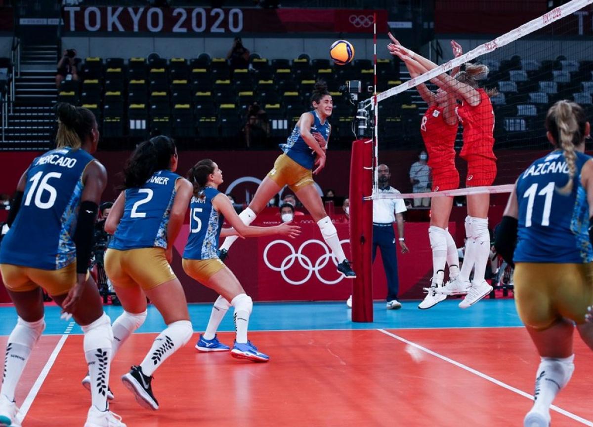 Olimpiyatlara iyi başlayan Filenin Sultanları, İtalya'ya 3-1 mağlup oldu