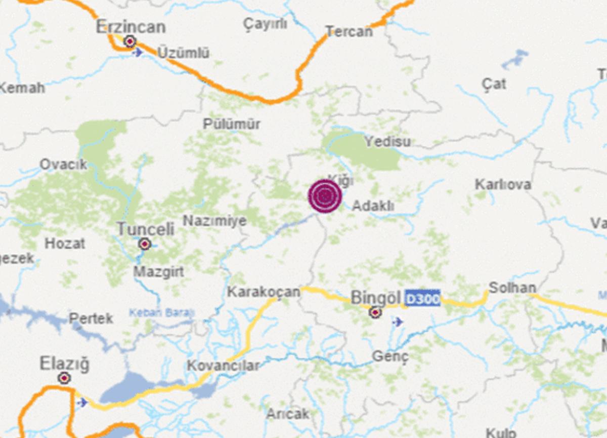 Son dakika: Bingöl'de 4.3 büyüklüğünde deprem meydana geldi!