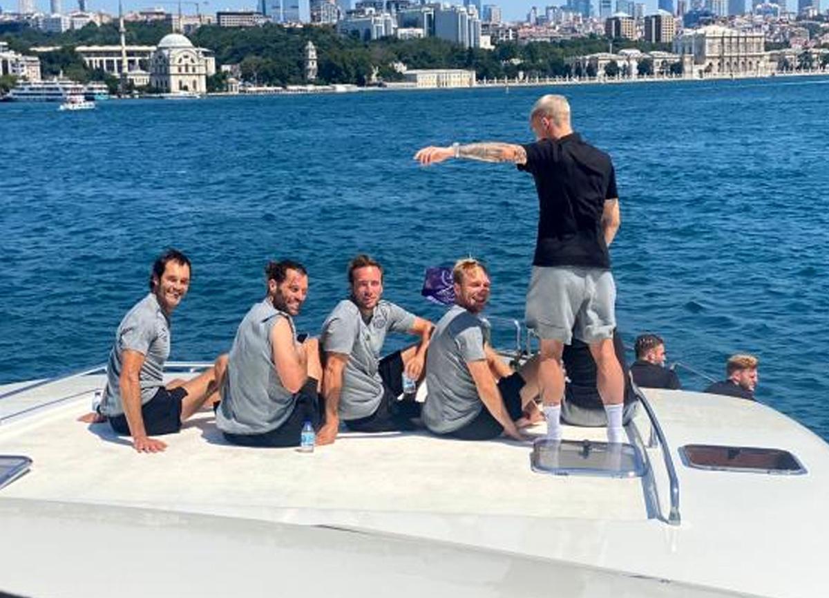 PSV Eindhoven'den İstanbul Boğazı turu