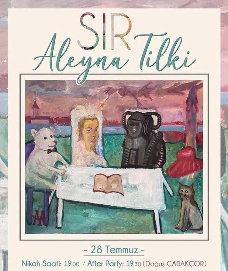 Aleyna Tilki robotla evlendi!