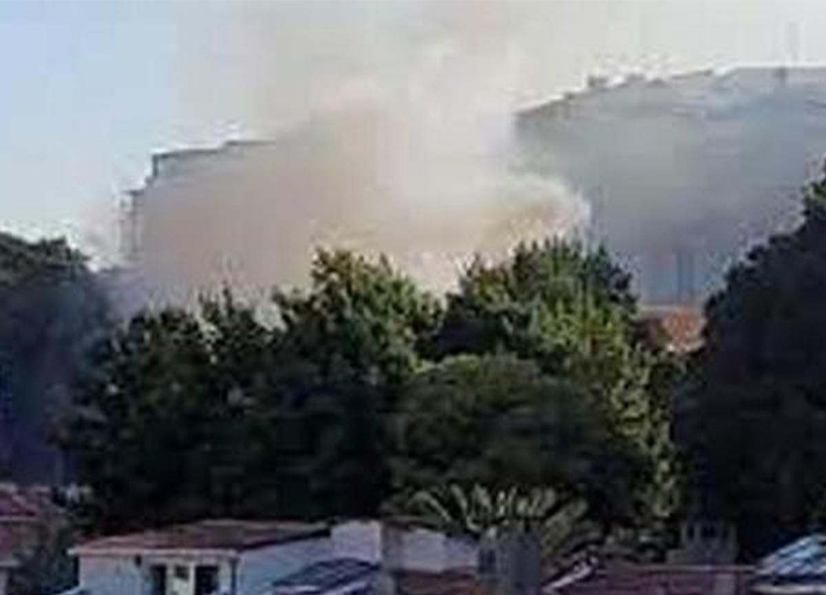 Son dakika: Beyoğlu'nda yangın paniği!