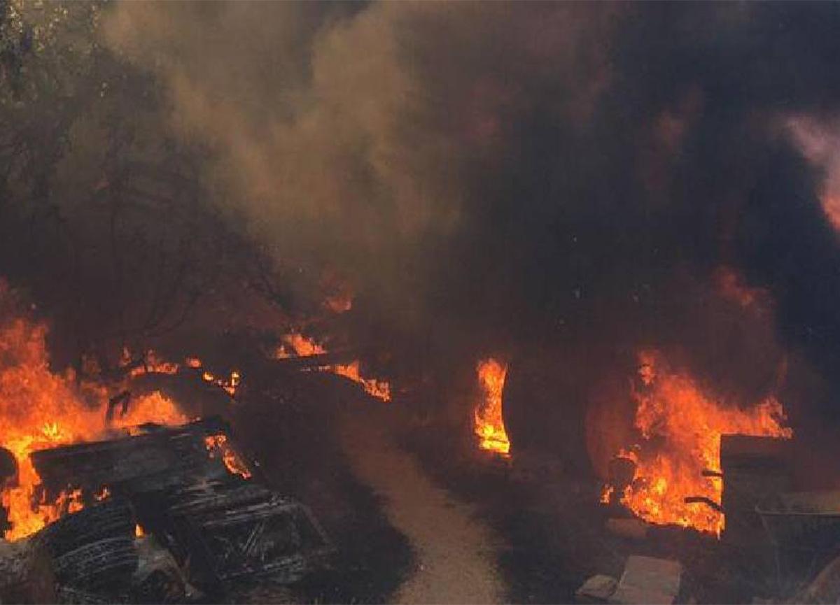 48 saattir yangın sürüyor! İşte 8 ildeki son durum