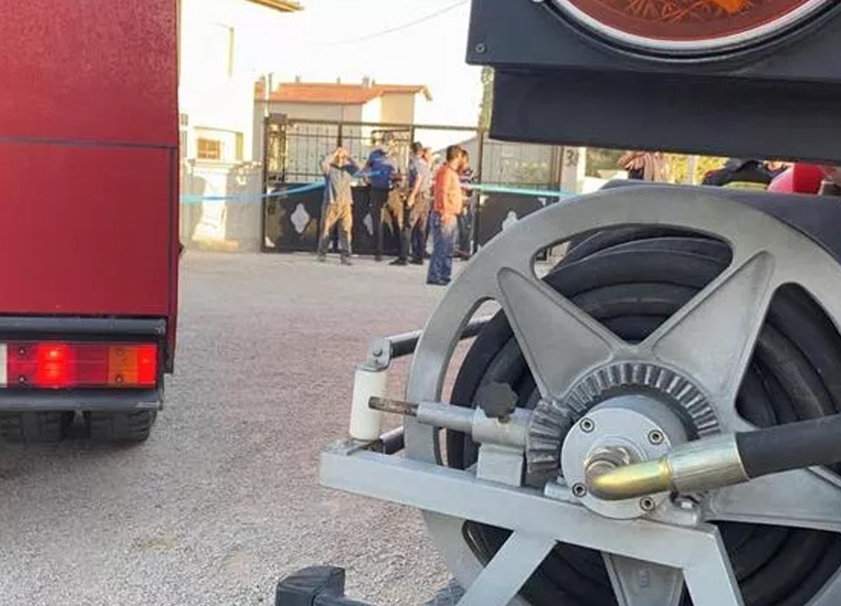 Konya'da eve düzenlenen silahlı saldırıda 7 kişi öldü; ev de ateşe verildi