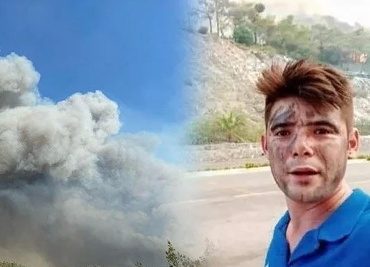 Marmaris'te Şahin Akdemir'in ölümü yürek dağladı: Alevlerin arasında kaldı...