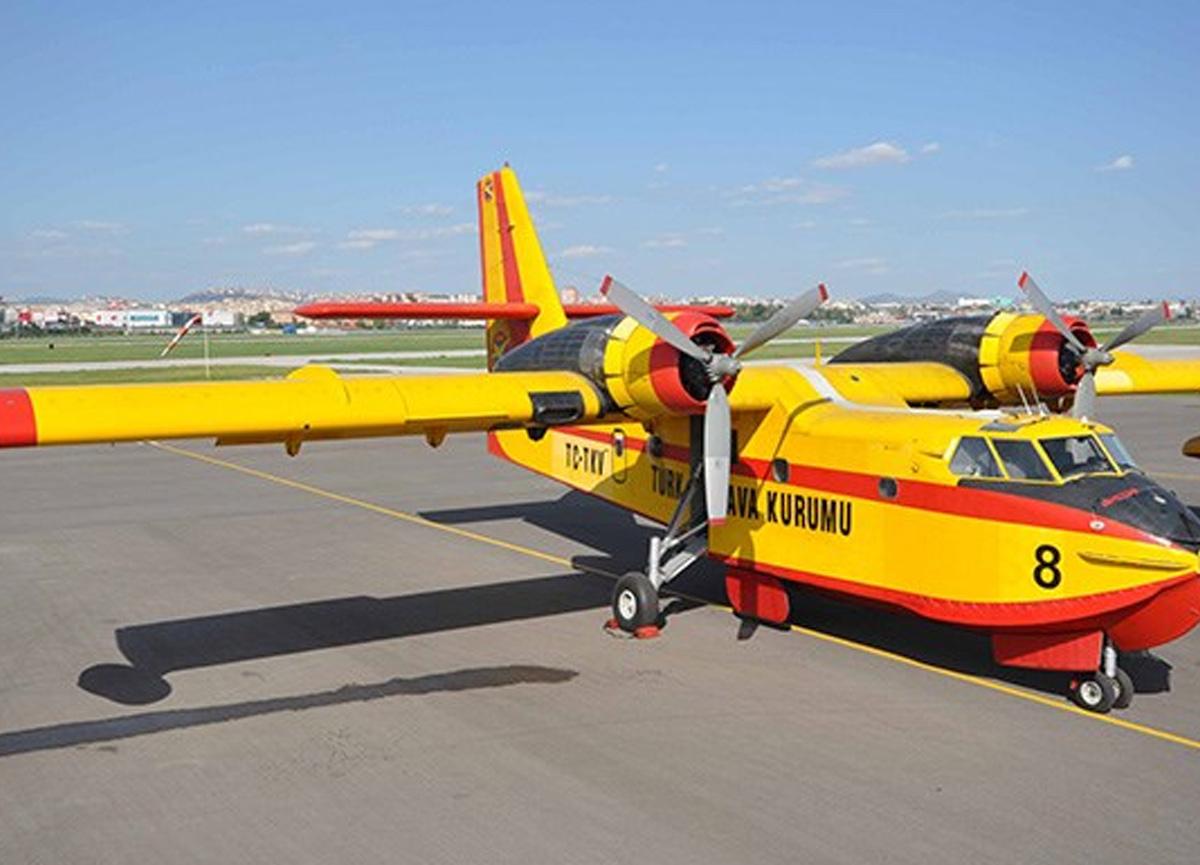 Türk Hava Kurumu'ndan yangınla ilgili iddialara cevap: 20 uçağımız var