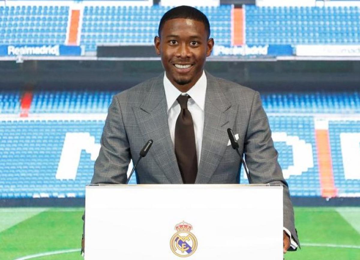 David Alaba, Real Madrid'de servet kazanacak