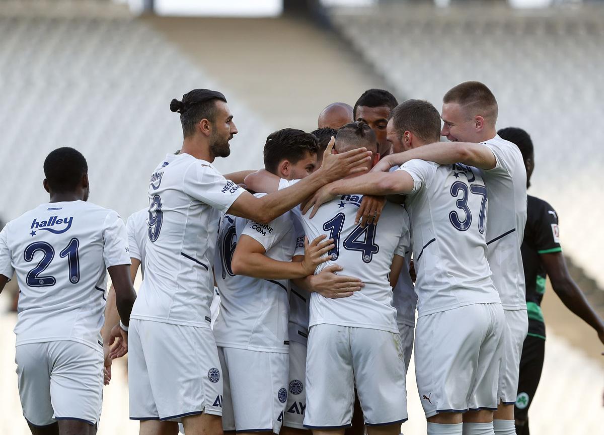 Fenerbahçe, 5. hazırlık maçında 3 golle kazandı