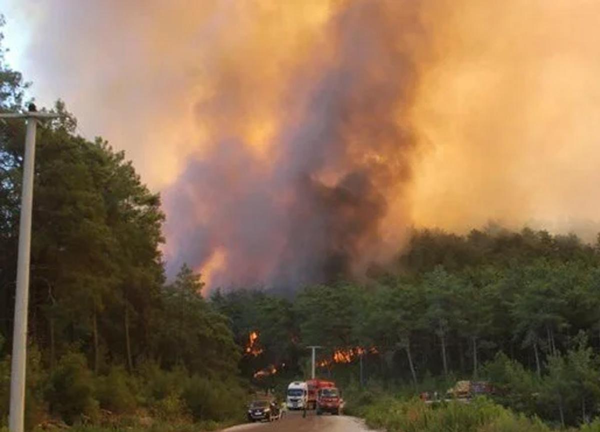 Son dakika: Manavgat'taki yangından çok acı haber! 2 işçi hayatını kaybetti...