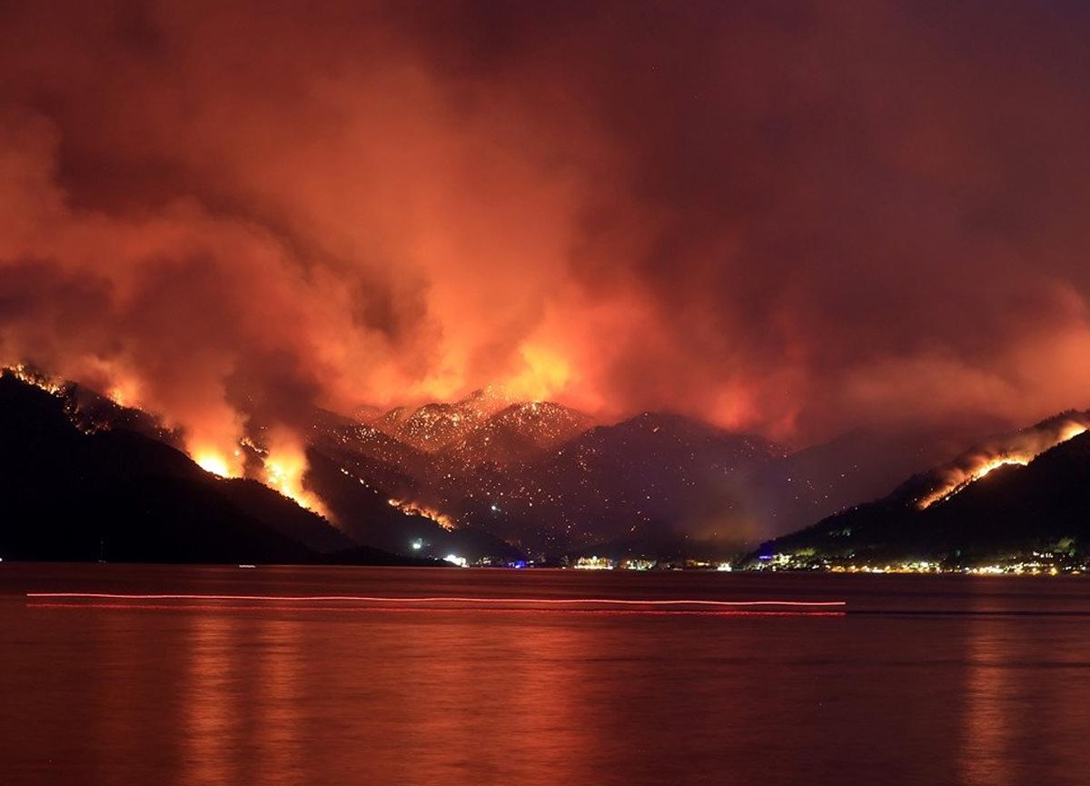 31 ilde çıkan 101 yangının 91'i kontrol altına alındı
