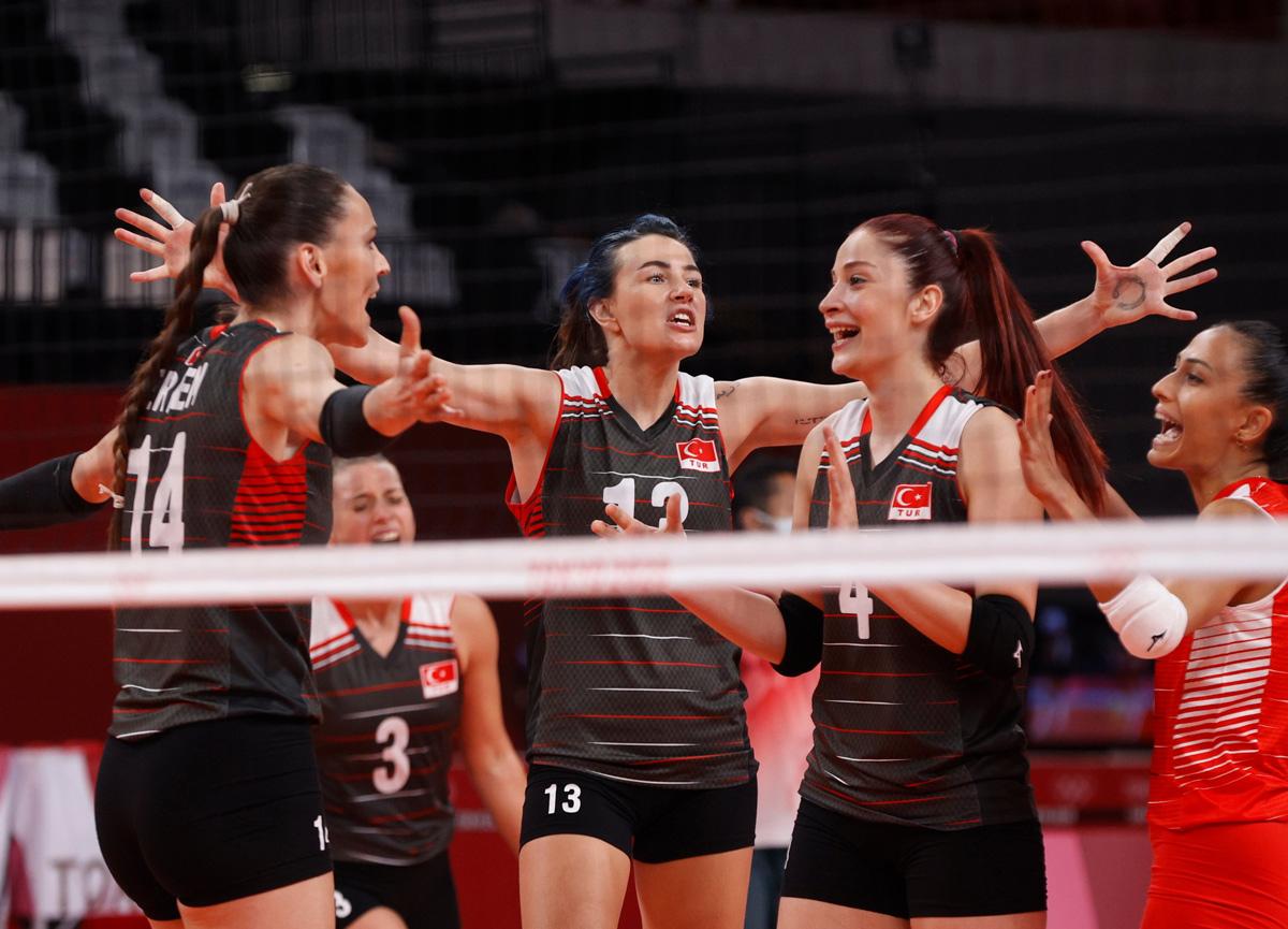 A Milli Kadın Voleybol Takımı'nın çeyrek finaldeki rakibi Güney Kore