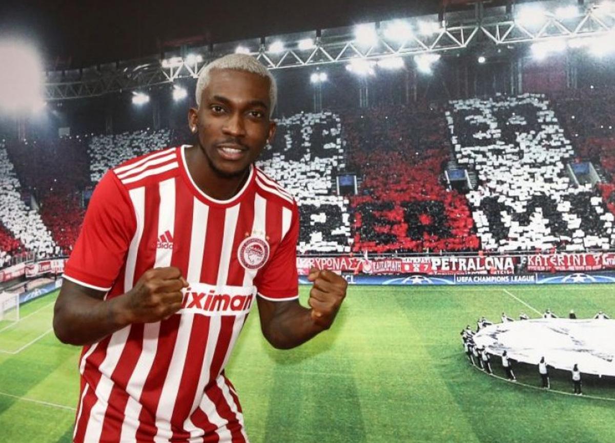 Eski G.Saraylı Henry Onyekuru, Olympiakos ile 4 yıllık sözleşme imzaladı