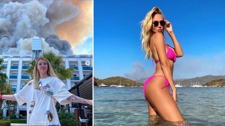 Rusların Türkiye'deki skandal tatil fotoğraflarına tepki yağdı!