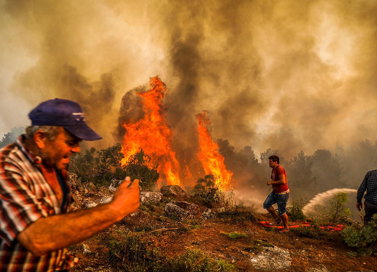 SON DAKİKA   Manavgat'taki yangına ilişkin 16 yaşındaki C.Y. tutuklandı
