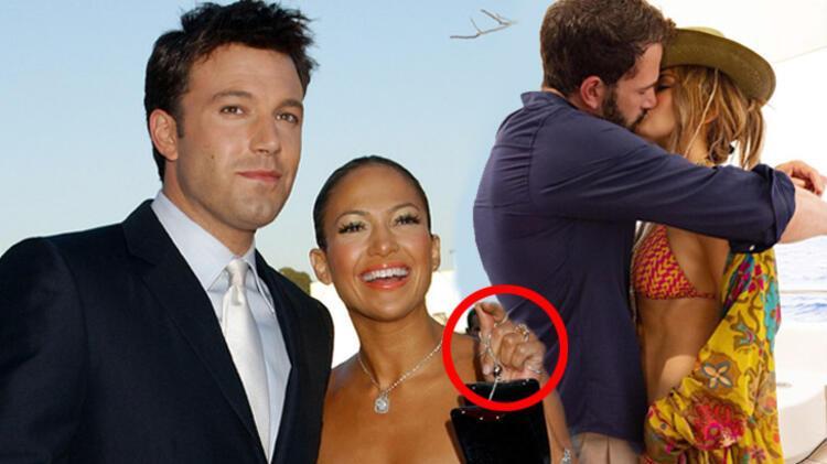 Ben Affleck'in Jennifer Lopez'e evlilik teklif ettiği yüzük yeniden gündemde!
