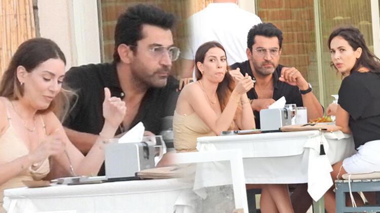 Kenan İmirzalıoğlu ve Sinem Kobal görüntülenmekten kurtulamadı