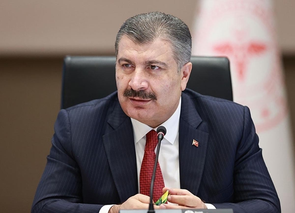 Sağlık Bakanı Fahrettin Koca, illere göre haftalık vaka haritası açıkladı
